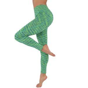 Yoga leggings workout pants two tone